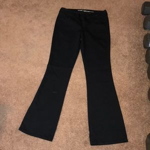 Old navy black flare pants